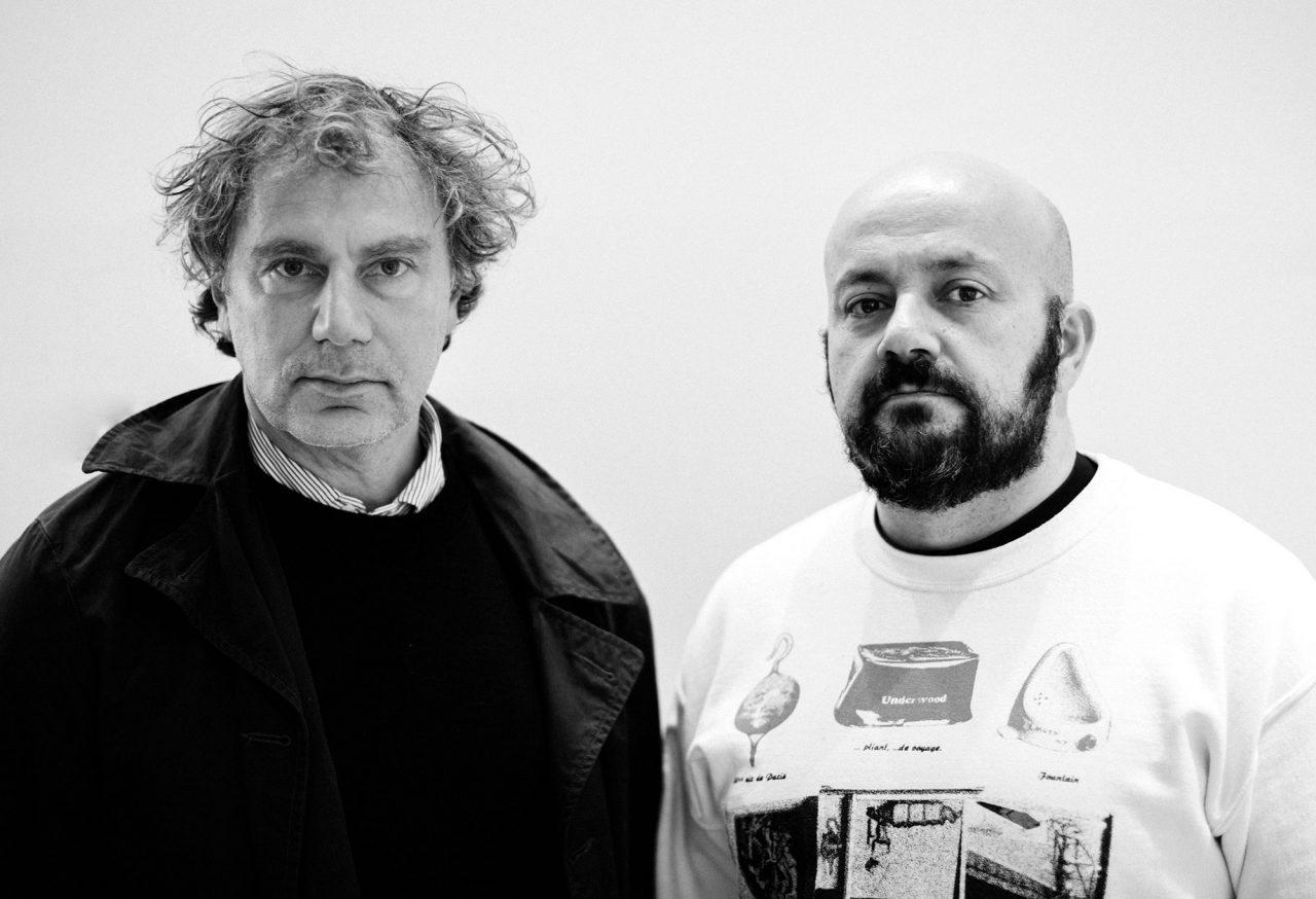 Mathias Augustyniak (左)、Michael Amzalag