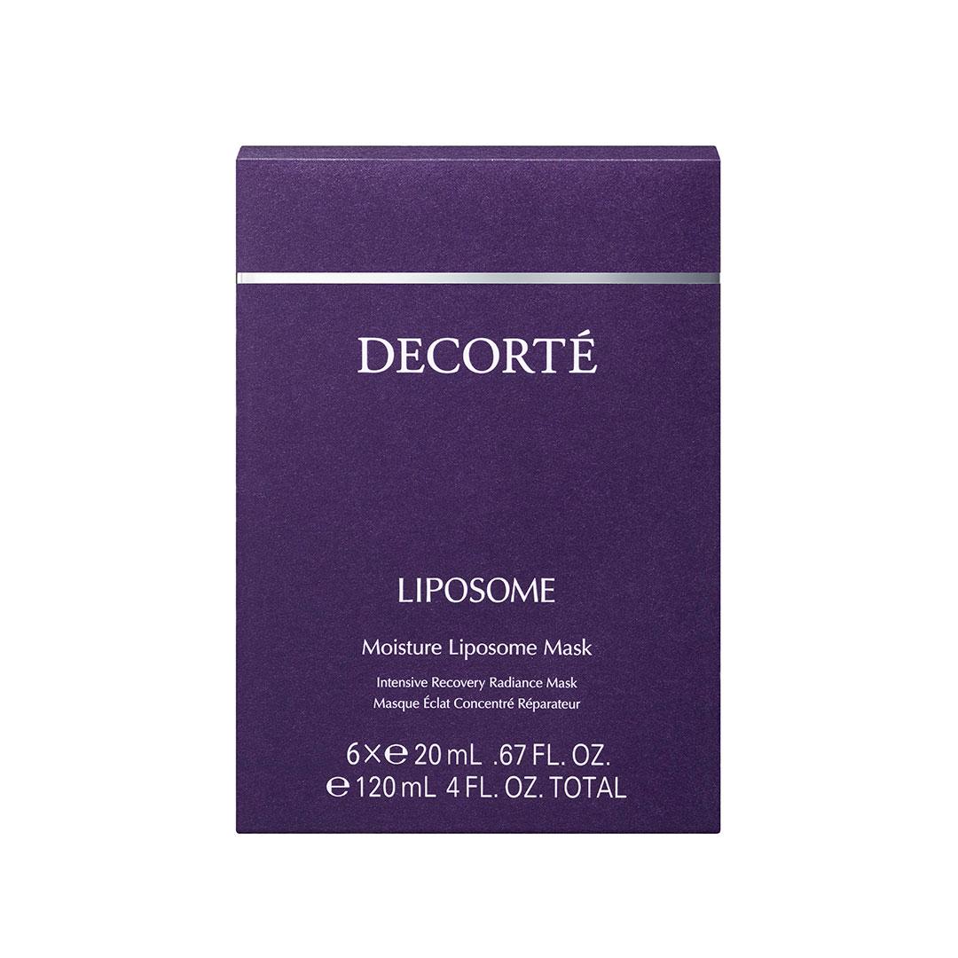 DECORTÉ モイスチュア リポソーム マスク 20ml × 6枚入り ¥7,200 (2020年1月16日発売)