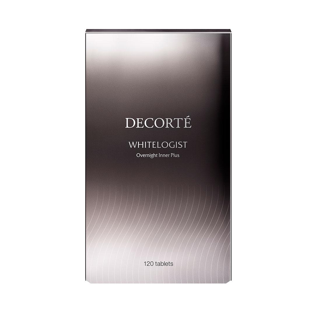 DECORTÉ ホワイトロジスト オーバーナイト インナー プラス 約10日分 [40粒] ¥2,800、約30日分 [120粒] ¥7,500 (2月16日発売)
