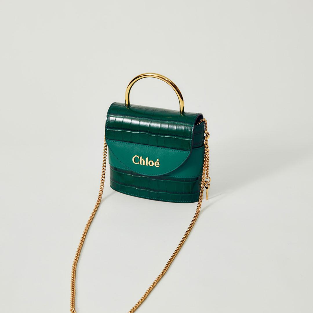 「aby lock」¥181,000【H15×W17×D4cm】/ Chloé (クロエ)