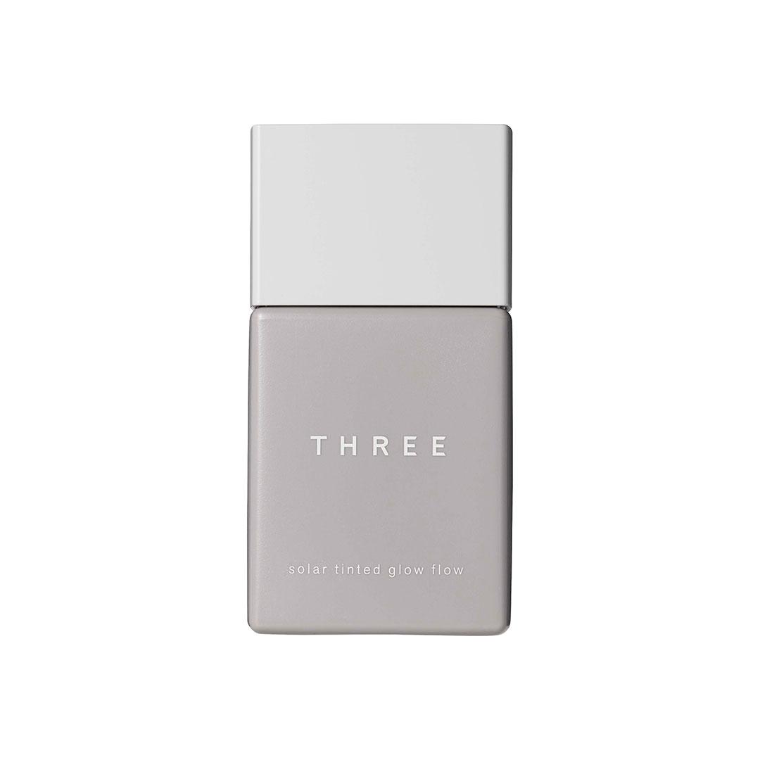 THREE ソーラーティンティドグローフロー 30ml 全7色 SPF50・PA++++ ¥4,800 (6月10日発売)
