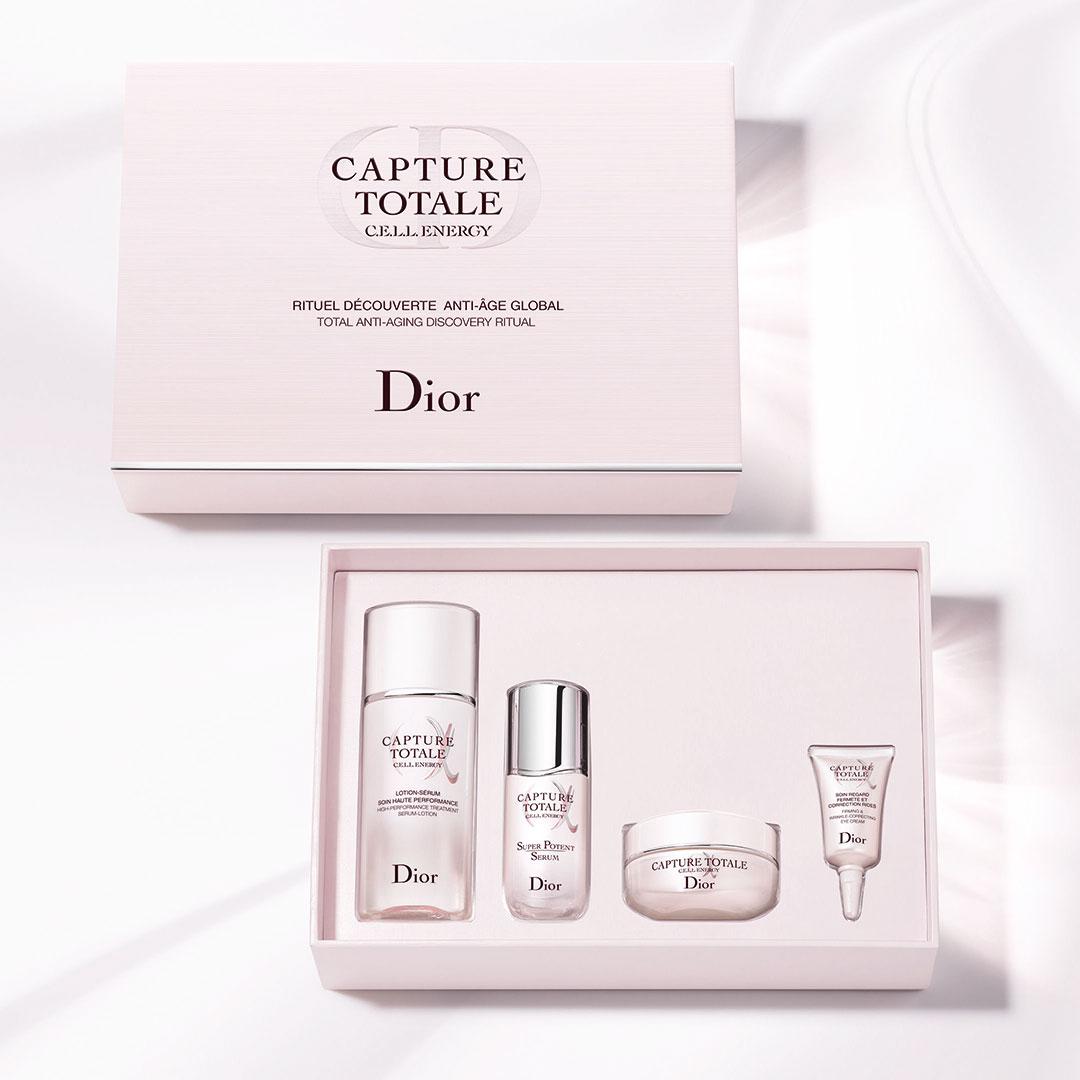 Dior カプチュール トータル セル ENGY ディスカバリー キット ¥10,000 (6月5日限定発売)