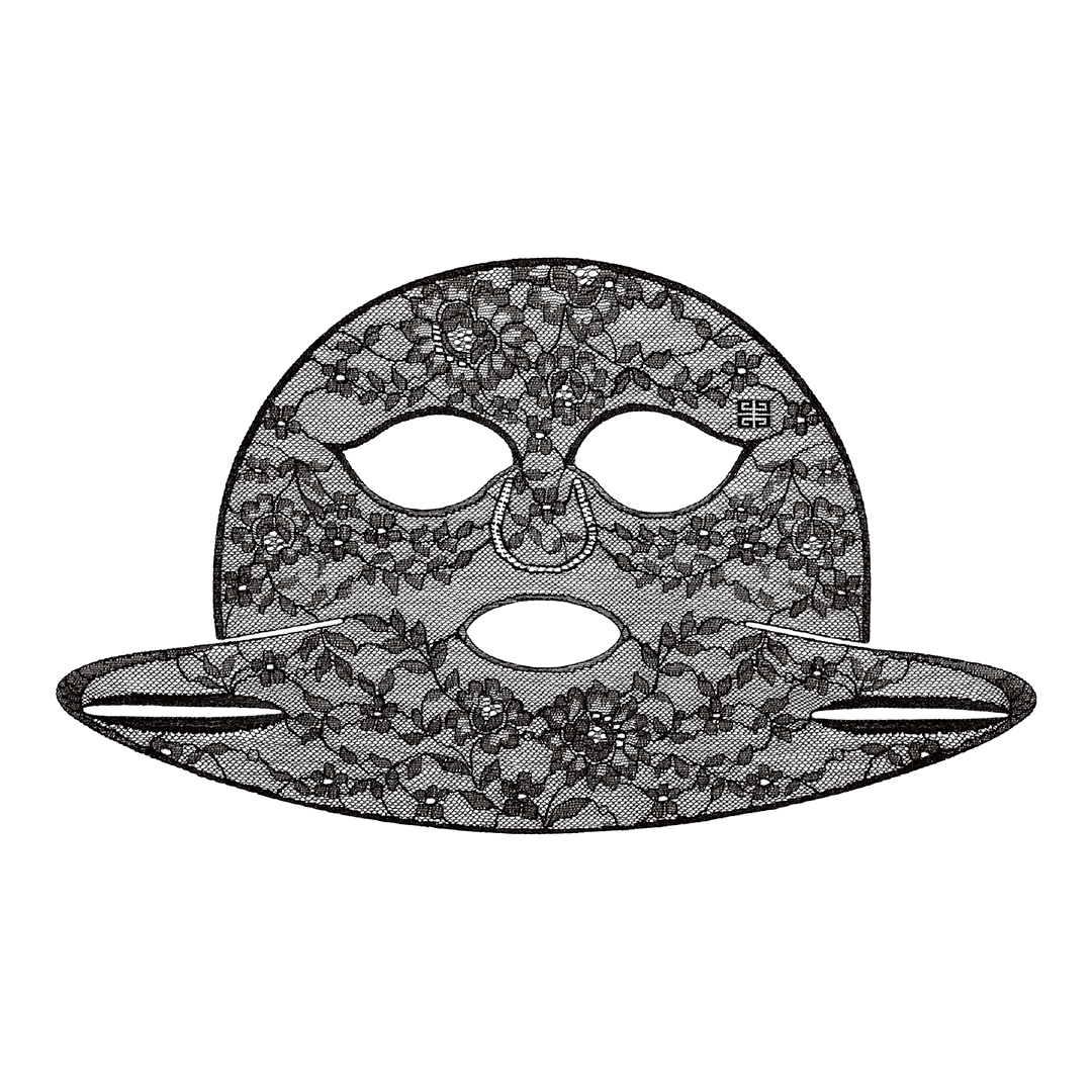 GIVENCHY ソワン ノワール マスク ダンテル 18ml (1枚) ×4枚入り ¥38,000 (9月4日限定発売)