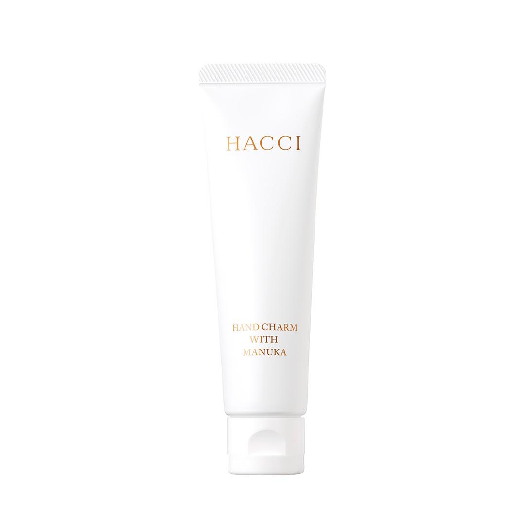 HACCI ハンドチャーム 28g ¥2,800 (12月1日発売)