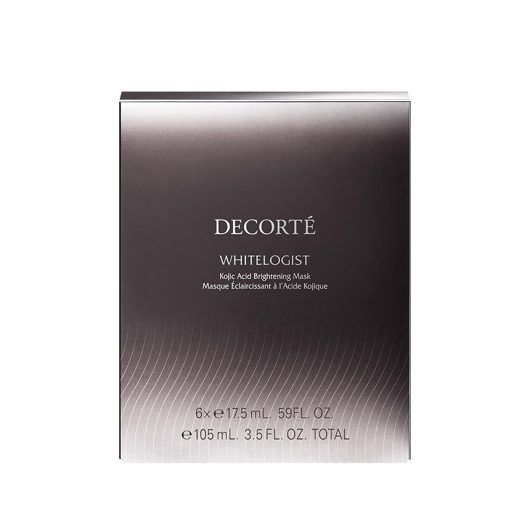 DECORTÉ ホワイトロジスト ブライトニング マスク 17.5ml × 6枚入り ¥10,000 (1月16日発売)