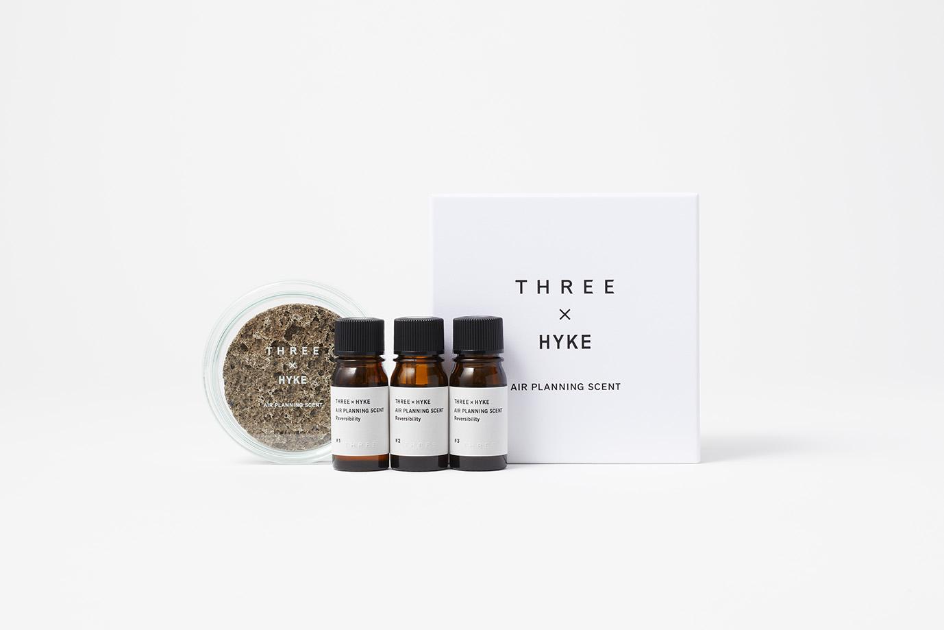 THREE × HYKE エアープランニングセント リバーサビリティ ¥10,000 (3月31日数量限定・店舗限定発売)