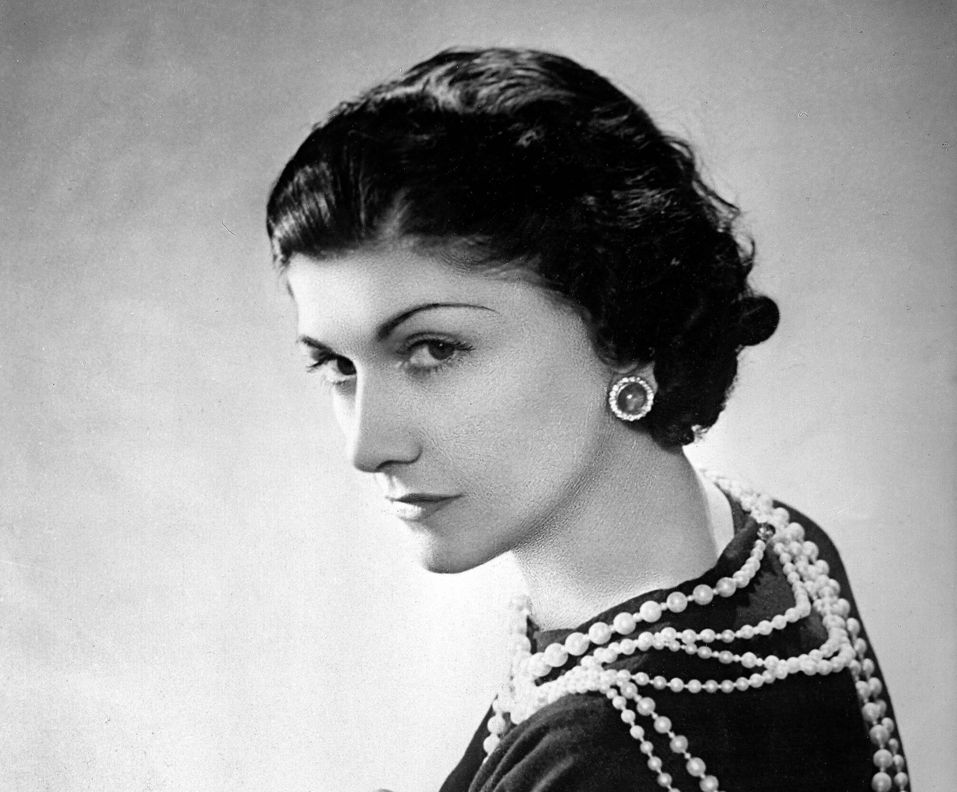 Coco Chanel, French couturier. Paris, 1936.