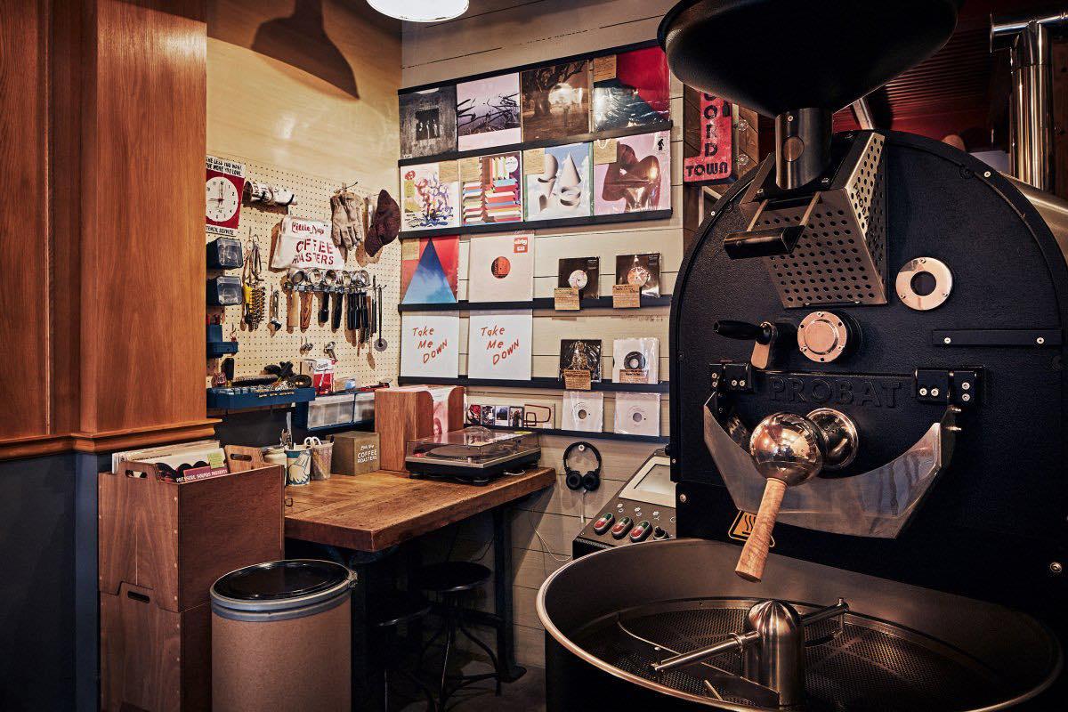 Little Nap Record Shop 内観