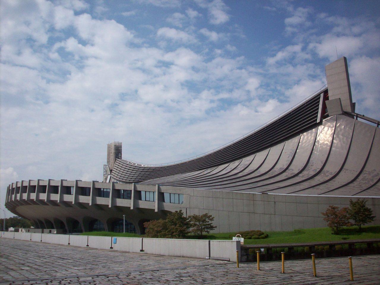 2021年8月2日、重要文化財に指定された代々木体育館(設計者:丹下健三/1964年竣工)